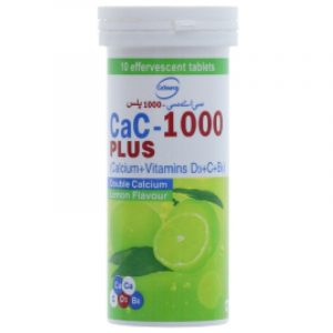 CaC-1000 Plus Lemon Flavour 10s tablet