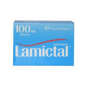 Lamictal 100mg Tablet