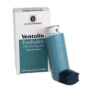 Ventolin Inhaler 100 mcg inhaler Salbutamol
