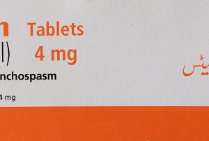 Ventolin Tablets 4 mg 120's Salbutamol