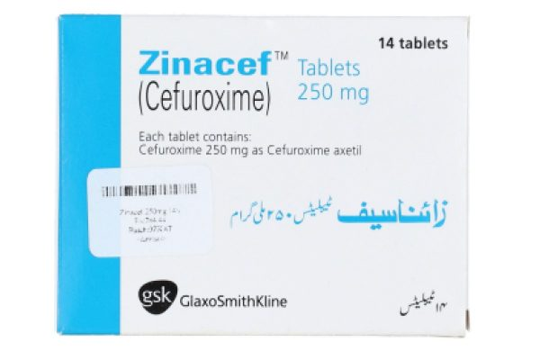 Zinacef Tablet 250 mg 14's Cefuroxime