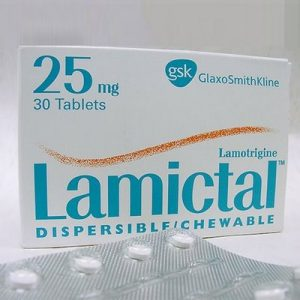 Lamictal 25mg Tablet