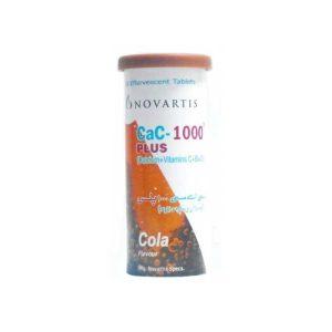 Cac-1000 Plus Cola Flavour Tab 10's