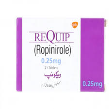 Requip Tablet 0.25mg 21's