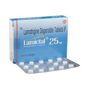 Lamictal 25mg tablet 30's