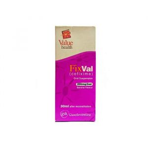 Fixval Suspension 200mg 5ml 30ml