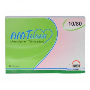 AM-Telsan Tab 10mg,80mg 14's