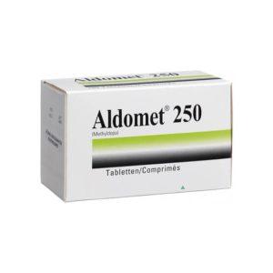 Aldomet Tab 250mg 10x10's
