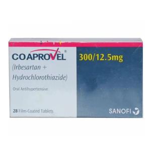 CO-Aprovel Tablets 300mg 12.5mg 2x14's
