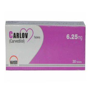 Carlov 6.25mg tablet