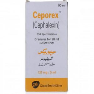 Ceporex Susp 125mg/ 90ml