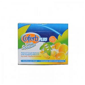 Coferb Plus Cough Soothers Lozenges 54's