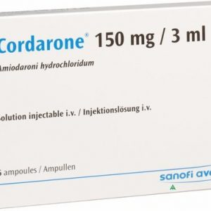 Cordarone Injection 150mg 6Ampx3ml