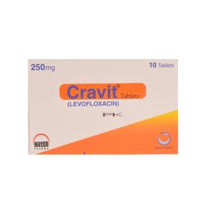 Cravit Tablets 250mg 10's