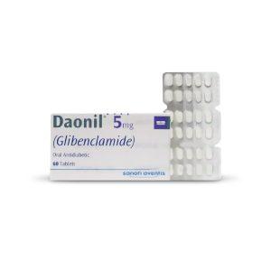 Daonil Tablets 5mg 2x30's