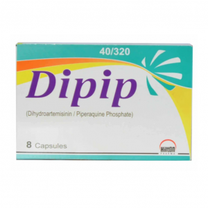 Dipip Capsules 40mg-320mg 8's