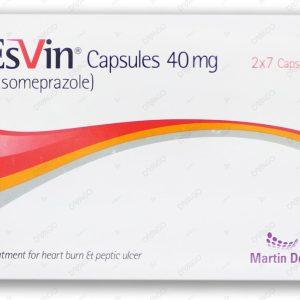 Esvin Cap 40mg 2x7's