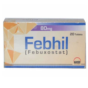 Febhil Tablets 80mg 20's