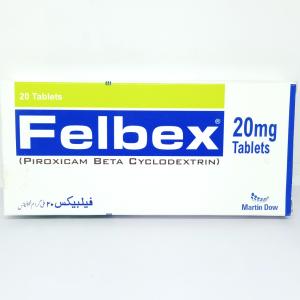 Felbex Tablet 20mg 20's
