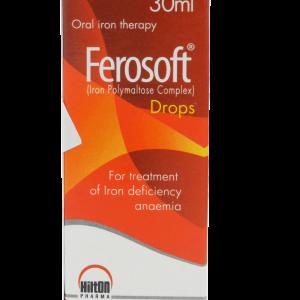 Ferosoft Drops 50mg-5ml 30ml