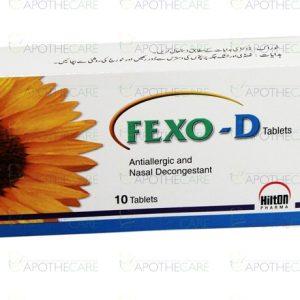 Fexo-D Tab 60mg-120mg 10's