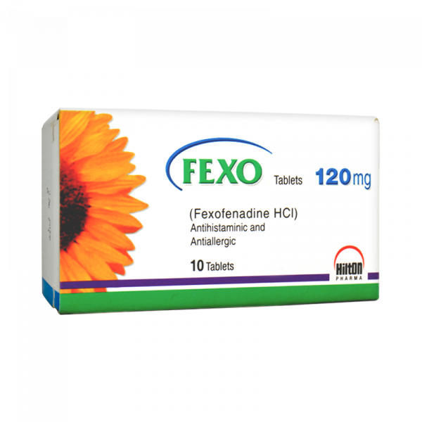 Fexo Tablets 120mg 10's