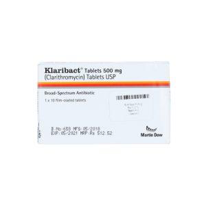Klaribact 500mg tablet