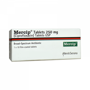 Mercip Tablets 250mg 1x10's