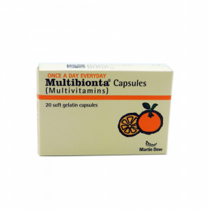 Multibionta Capsules 20's