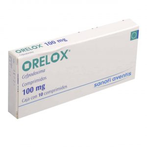 Orelox Tablet 100mg 10's
