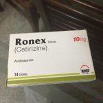 Ronex 10mg tablet