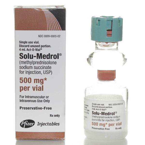 Solu Medrol 500mg injection