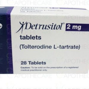 Detrusitol 2mg Tab