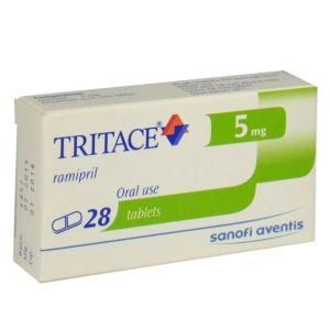 Tritace Tablets 5mg 1x28's