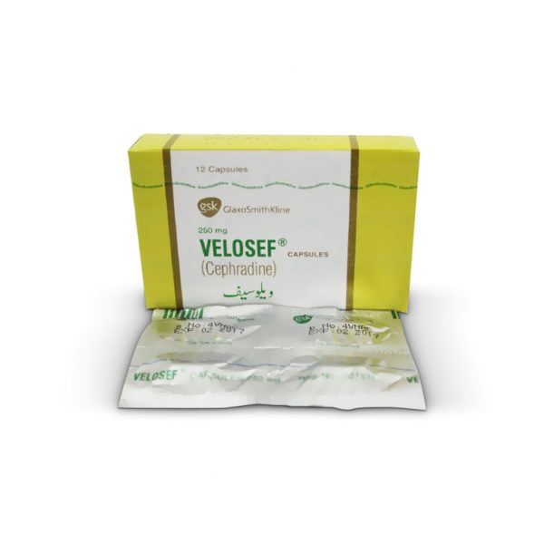 Velosef Cap 250mg 12's