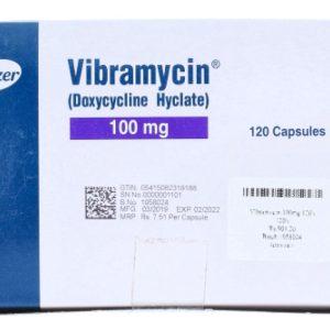 Vibramycin 100mg Capsule