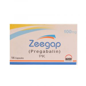 Zeegap Capsules 100mg 14's