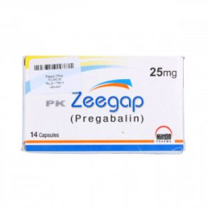 Zeegap Capsules 25mg 14's