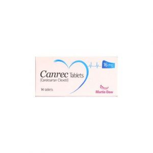 Canrec Plus Tablet 16mg/12.5mg 1x14's