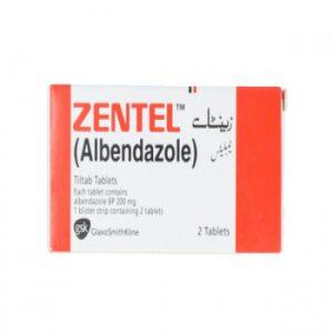 Zentel Tablets 200mg 2s