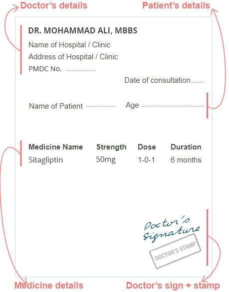 Upload Your Prescription Template