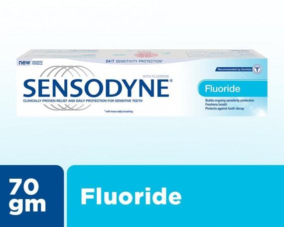 Sensodyne Fluoride Toothpaste 70g