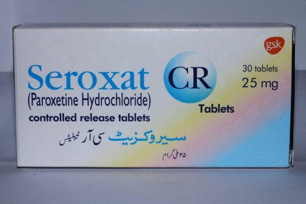 Seroxat CR Tablets 25mg 30s