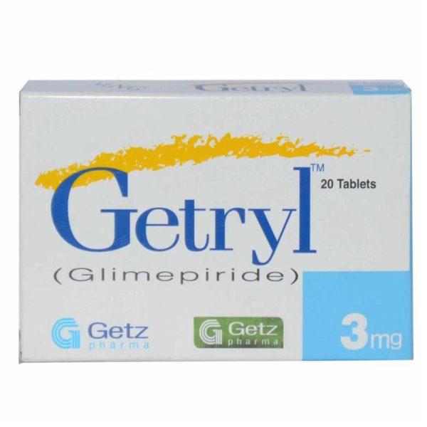 Getryl 3mg Tablet