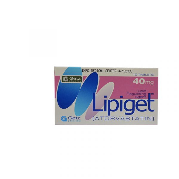 LIPIGET 40MG TABLET