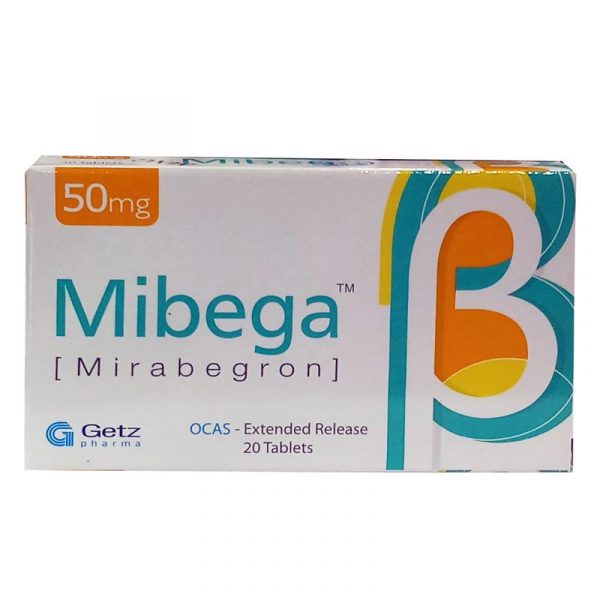 Mibega50mg Tablet