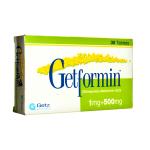 Getformin 1 plus 500 Mg Tablet