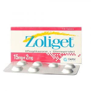 Zoliget 15 plus 2mg Tablet