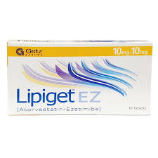 Lipiget Ez 10 plus 10MG Tablet