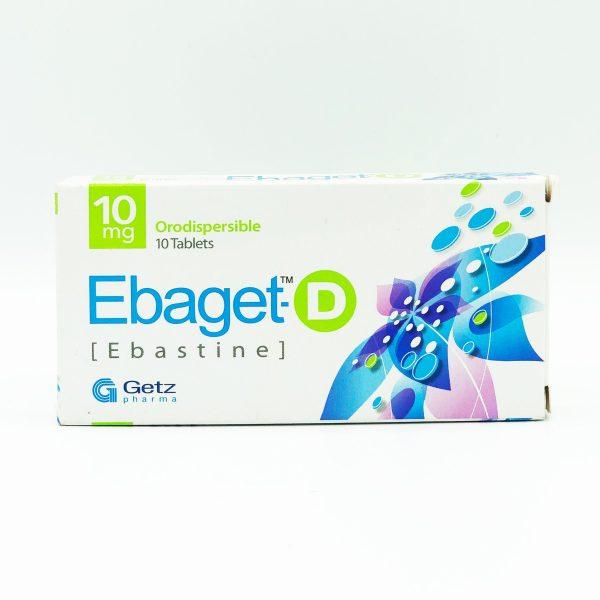 EBAGET D 10MG TABLET